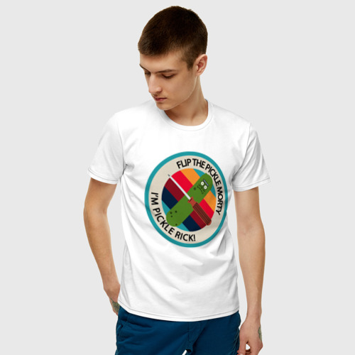 Мужская футболка хлопок I`M PICKLE Фото 01
