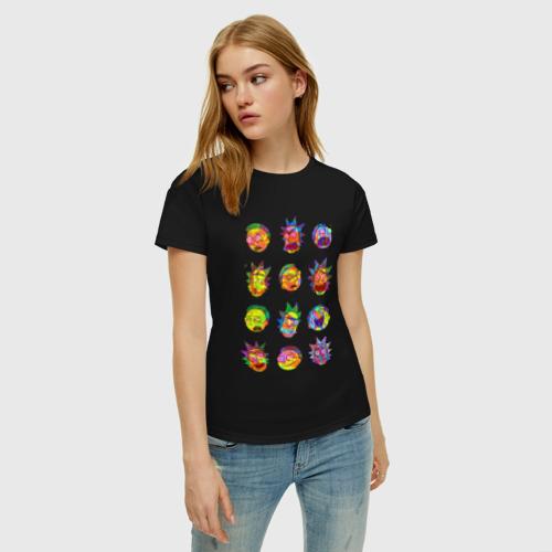 Женская футболка хлопок Rick and Morty Фото 01