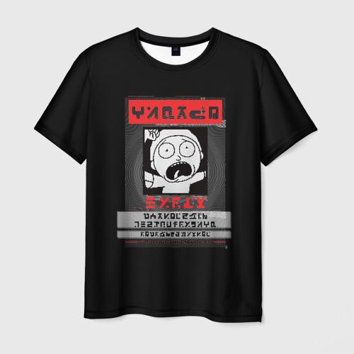Мужская футболка 3D Morty Фото 01