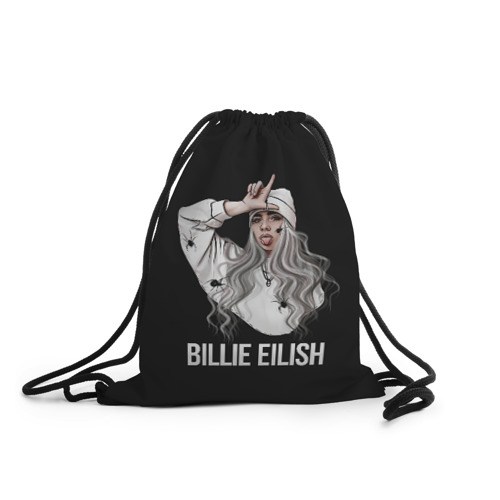 Рюкзак-мешок 3D BILLIE EILISH Фото 01