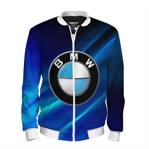 Мужской бомбер 3D BMW (РЕДАЧ) XL фото