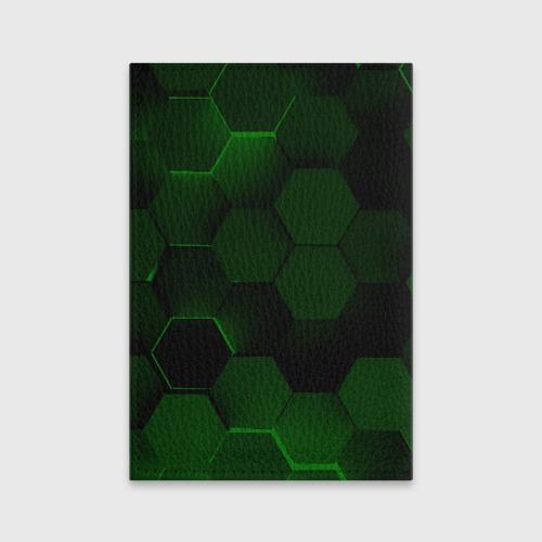 Обложка для паспорта матовая кожа Hack Cyberspace Фото 01