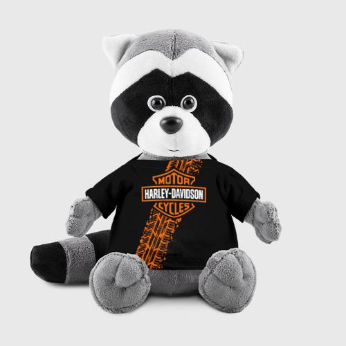 Енотик в футболке 3D Harley-Davidson (4) Фото 01