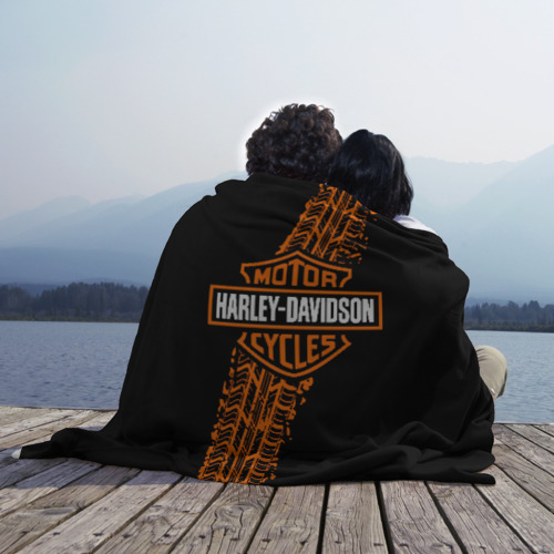 Плед 3D Harley-Davidson (4) Фото 01