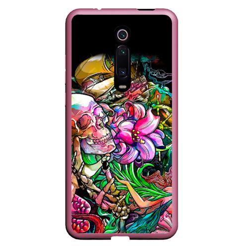 Чехол для Xiaomi Redmi Mi 9T Тату Фото 01