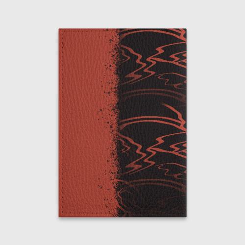 Обложка для паспорта матовая кожа Wubba Lubba dub Фото 01