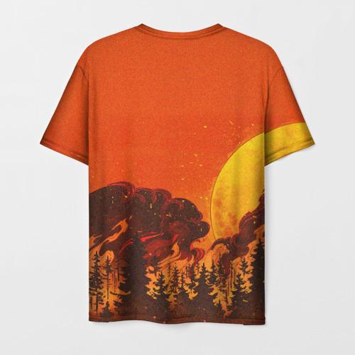 Мужская футболка 3D Сибирь.. Фото 01