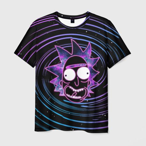 Мужская футболка 3D Rick Sanchez Фото 01
