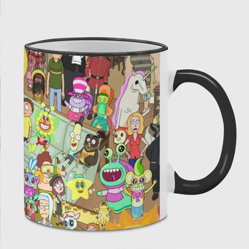Кружка с полной запечаткой Rick and Morty Фото 01