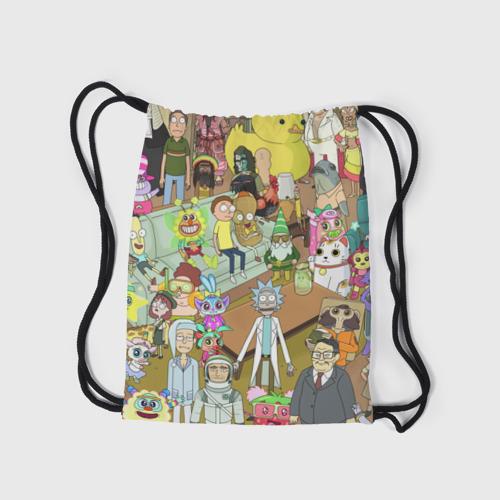 Рюкзак-мешок 3D Rick and Morty Фото 01