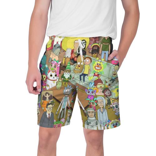 Мужские шорты 3D Rick and Morty Фото 01