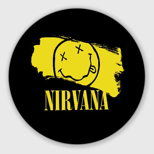 Коврик для мышки круглый Nirvana Фото 01