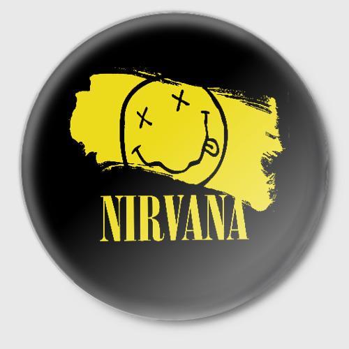 Значок Nirvana Фото 01