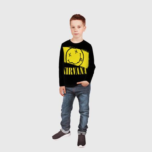 Детский лонгслив 3D Nirvana Фото 01