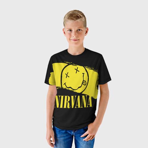 Детская футболка 3D Nirvana Фото 01