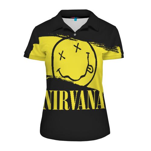 Женская рубашка поло 3D Nirvana Фото 01
