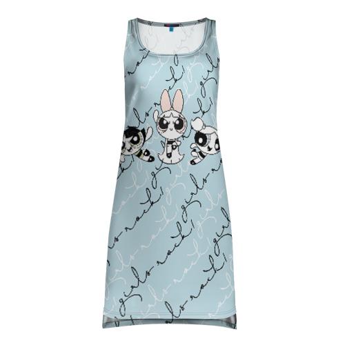 Платье-майка 3D Крутые девчонки Фото 01