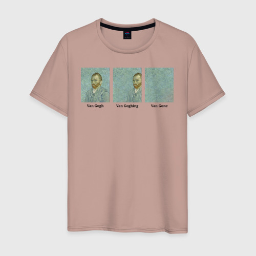 Мужская футболка хлопок Van Gogh Van Goghing Van Gone Фото 01