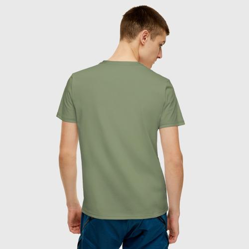 Мужская футболка хлопок Overlord: Glitch. Фото 01