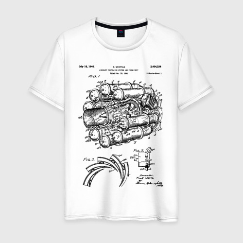 Мужская футболка хлопок Aircraft