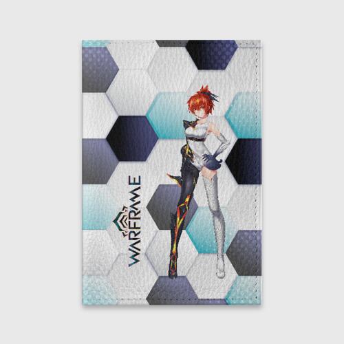 Обложка для паспорта матовая кожа Warframe girl anime Фото 01