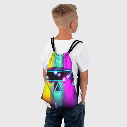 Рюкзак-мешок 3D НАЗАД В БУДУЩЕЕ Фото 01