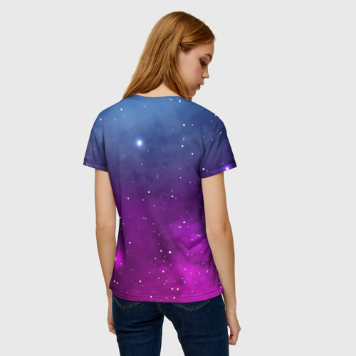 Женская футболка 3D LIKEE Space Фото 01