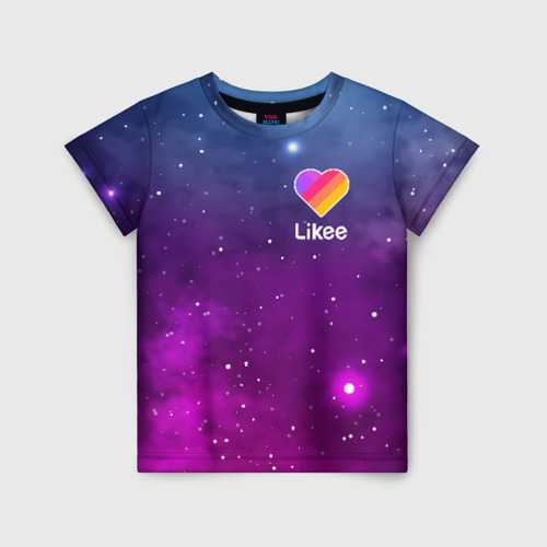 Детская футболка 3D LIKEE Space Фото 01