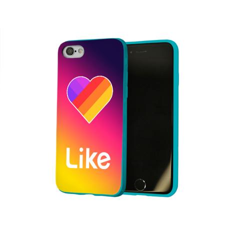 Чехол для Apple iPhone 8 силиконовый глянцевый РЮКЗАК LIKE Фото 01