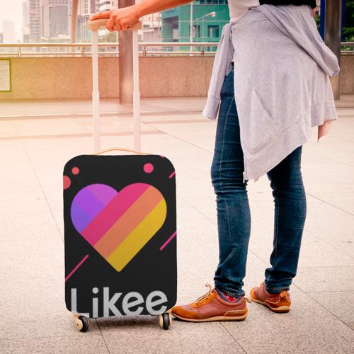 Чехол для чемодана 3D LIKEE (Like Video) Фото 01