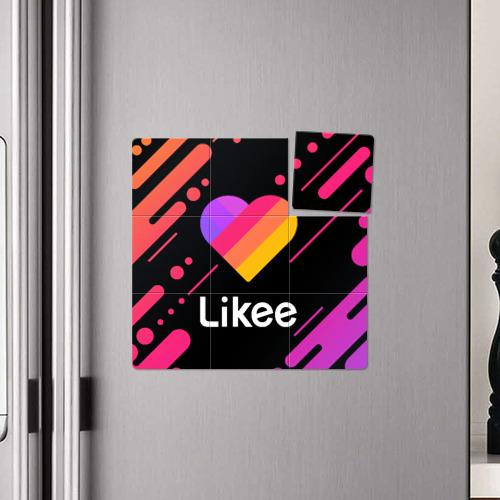 Магнитный плакат 3Х3 LIKEE (Like Video) Фото 01