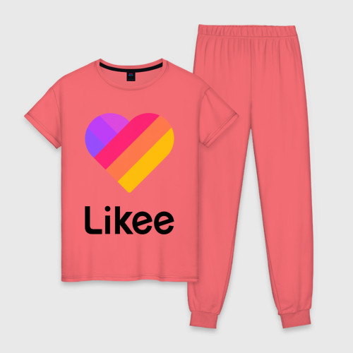 Женская пижама хлопок LIKEE (LIKE Video) Фото 01
