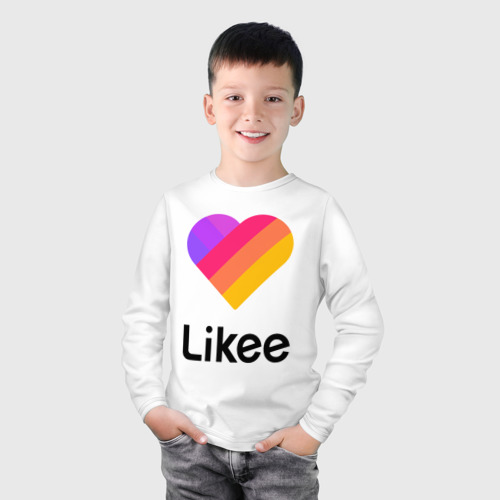 Детский лонгслив хлопок LIKEE (LIKE Video) Фото 01