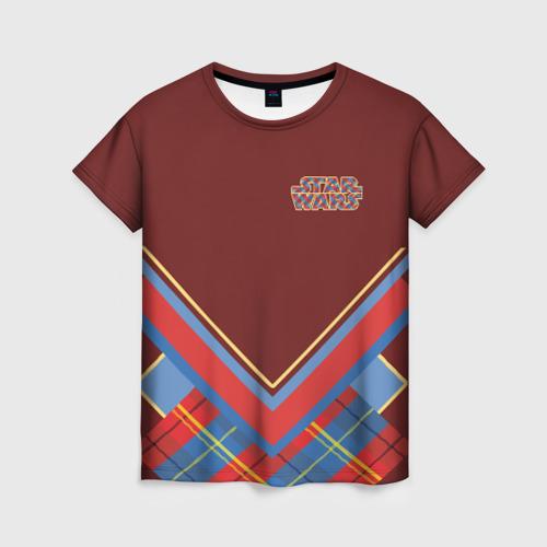 Женская футболка 3D Звездные войны-Дарт Вейдер Фото 01
