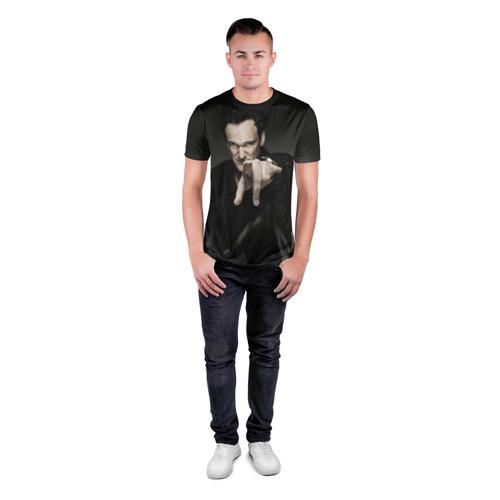 Мужская футболка 3D спортивная Квентин Тарантино Фото 01