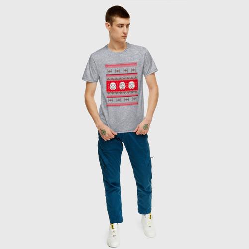 Мужская футболка хлопок Star Wars Christmas Sweater Фото 01