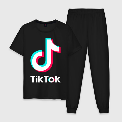 Мужская пижама хлопок TikTok Фото 01