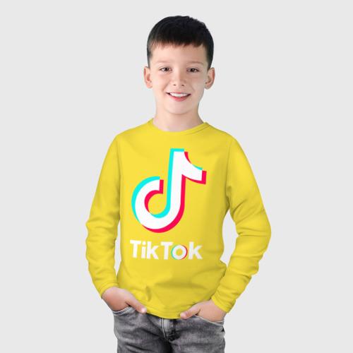 Детский лонгслив хлопок TikTok Фото 01