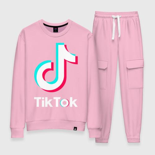 Женский костюм хлопок TikTok Фото 01