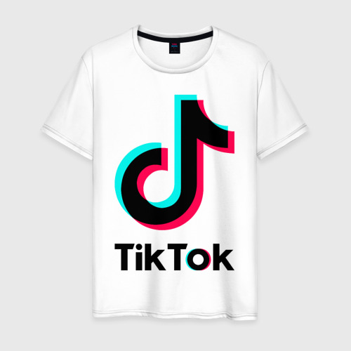 Мужская футболка хлопок TikTok