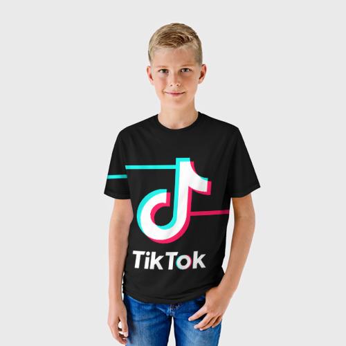 Детская футболка 3D TikTok Фото 01