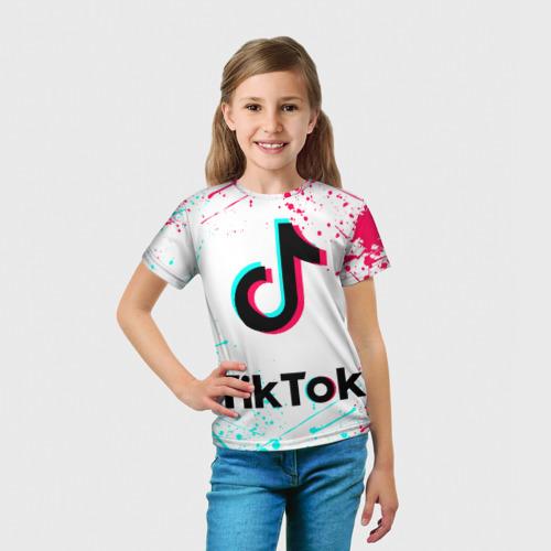 Детская футболка 3D РЮКЗАК TIK TOK Фото 01