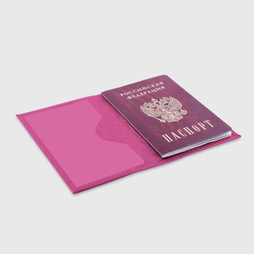 Обложка для паспорта матовая кожа РЮКЗАК TIK TOK Фото 01