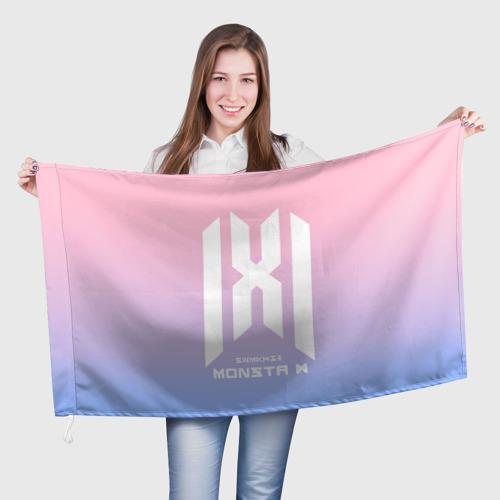 Флаг 3D Monsta X One фото