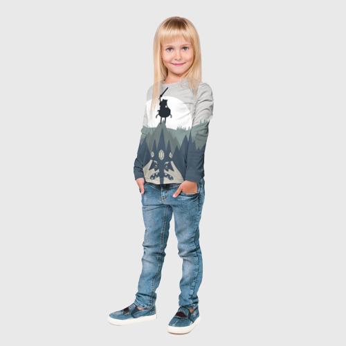 Детский лонгслив 3D Ледяной король Фото 01