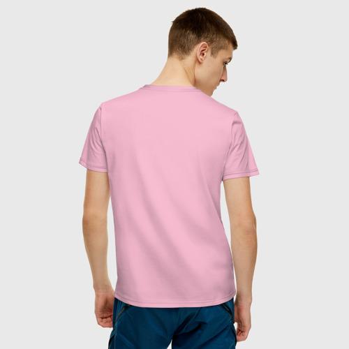 Мужская футболка хлопок Острые козырьки Фото 01