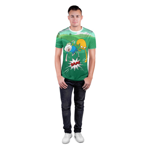 Мужская футболка 3D спортивная Bam! Фото 01