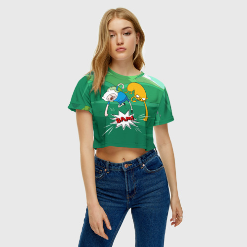 Женская футболка Cropp-top Bam! Фото 01