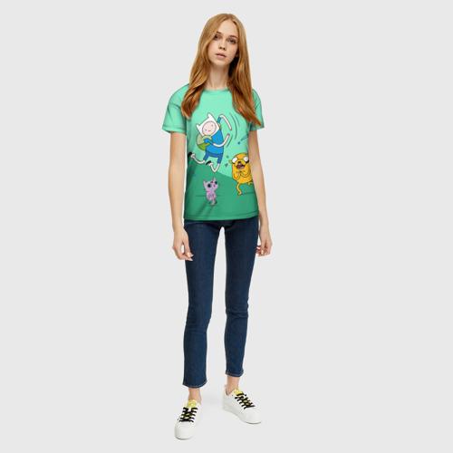Женская футболка 3D Flex Фото 01