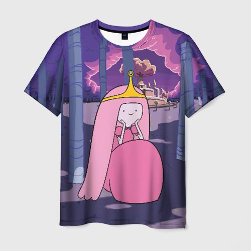 Мужская футболка 3D Принцесса Жвачка Фото 01